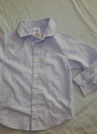Рубашка с длинным рукавом на мальчика 4 года 104см urban rascals