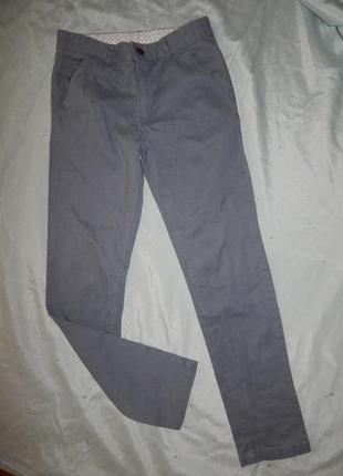 Брюки модные на мальчика 9-10 лет 135-140см