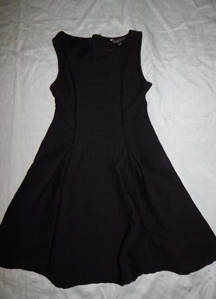 Платье на девочку 12-13 лет черное