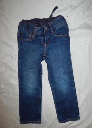 Джинсы на мальчика 5 лет плотный джинс 110см