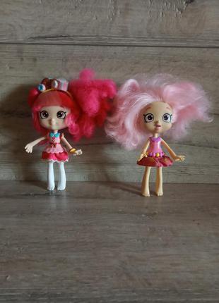 Куклы shopkins шопкинс донатина и баблиша