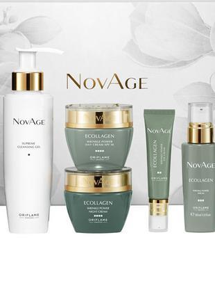 Комплексный уход против морщин NovAge Ecollagen Wrinkle Power