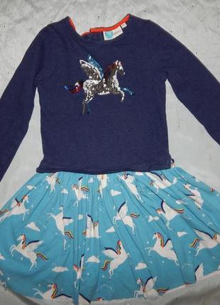 Платье на девочку 9-10 лет  тепленькое  140см