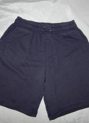 Шорты трикотажные модные на мальчика 11-12 лет 146-152см