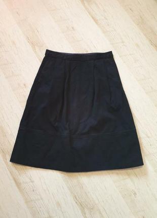 Стильная джинсовая миди юбка  uniqlo