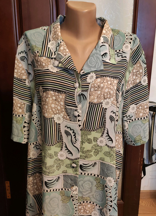 Блузка размер 18(52)