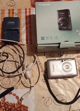 Фотоаппарат Canon Ixus 100is