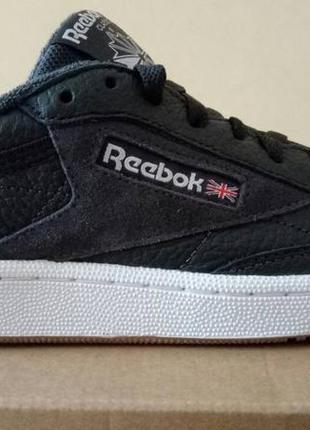 Кожаные   кроссовки     reebok lifestyle   club c 85 estl