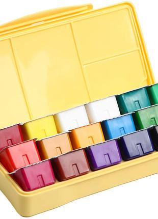 Художественная гуашь 18 цветов 540 мл Набор для рисования Краски