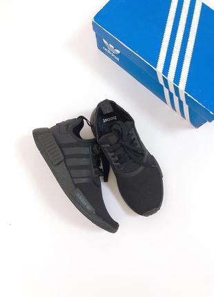 Оригинал ▫️кроссовки adidas nmd r1 triple black fv9015