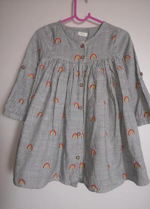 Платье next 18-24m