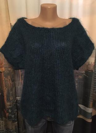 Махеровый свитер оверсайс