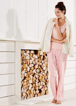 Тёплый домашний костюм тройка женская пижама esmara германия м...