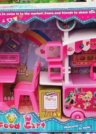 Детский набор мебель shopkins 807 Шопкинс