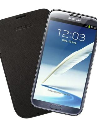 Чехол Samsung Galaxy Note 2 N7100 EFC-1J9LDEGSTD Dark Brown