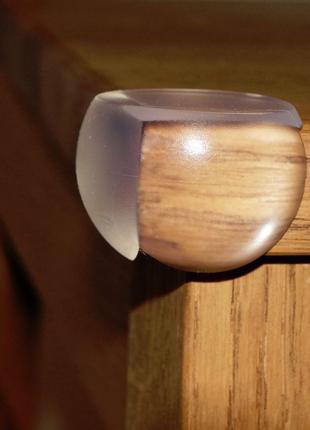 8шт! Уголки силиконовые, накладки на углы мебели для защиты детей