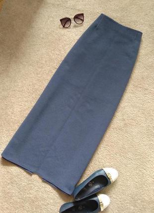 Красивая плотная юбка макси, юбка в пол, длинная юбка