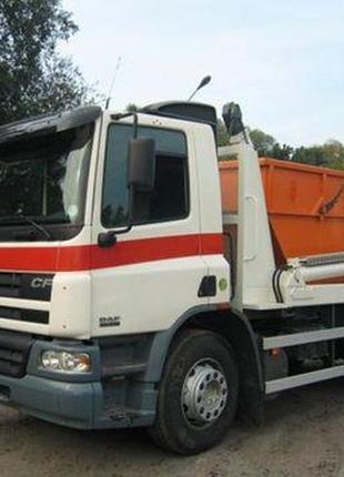 Вывоз строительного мусора и ТБО съемными контейнерами