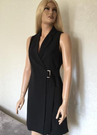 Платье блейзер платье пиджак на запах  h&m размер s
