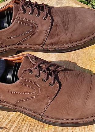 Josef seibel ~мужские кожаные туфли мокасины ~болгария р 41
