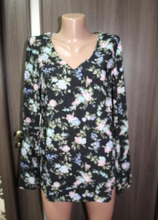 Красивая блузка вискоза george в идеальном состоянии m