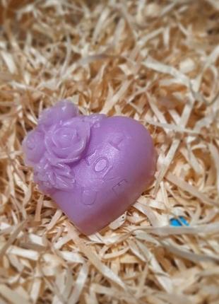 Мыло сердце/мыло в виде сердца/мыло сердечко/мыло/подарок любимой