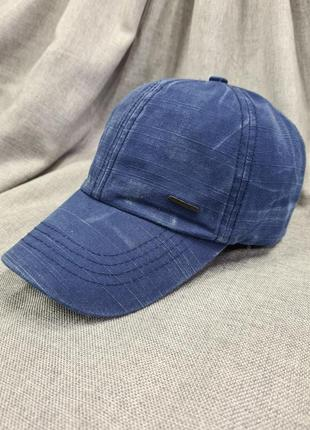 Бейсболка кепка, бейсболка варёнка джинсовая кепка блайзер,  м...