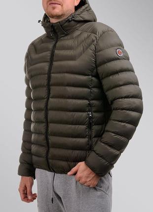 Стильный мужской зимний пуховик-куртка