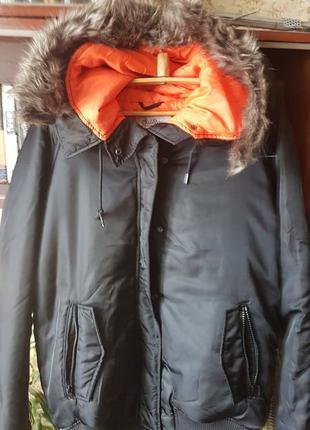 Куртка зимняя куртка женская  куртка зимова куртка черная.курт...