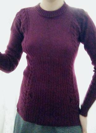 Ручная работа, вязанный свитер
