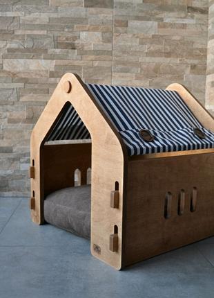 Спальный домик для кошек и собак.