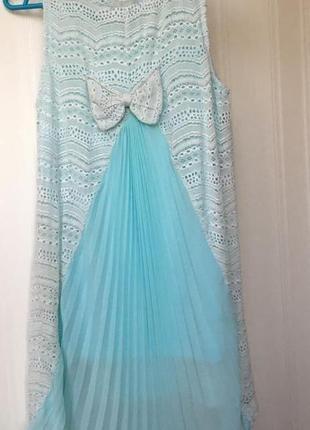 Платье туничка. италия. gaialuna. 146 см. 40 разм. б. у.