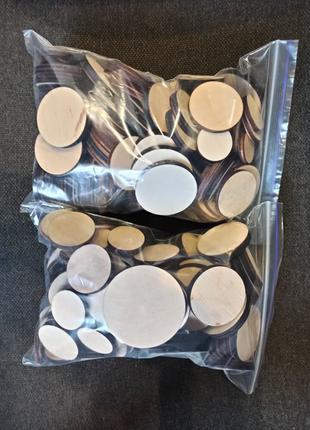 Кружочки(круги из фанеры) для декора