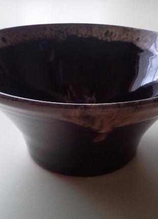 Керамическая вазочка/конфетница/фруктовница