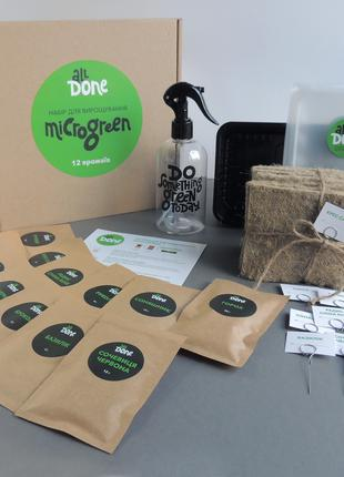 Набор для выращивания микрозелени BIG START (12 урожаев)