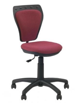 Крісло офісне дитяче Ministyle червоний оксамит