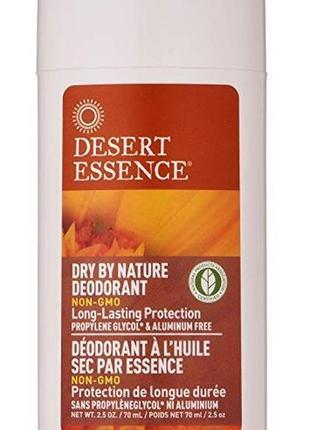 Desert essence  твердый дезодорант с эфирными маслами ромашки ...