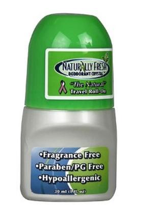 Naturally fresh deodorant crystal натуральный роликовый дезодо...