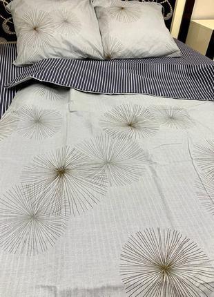 Постільна білизна/постельное бельё:  одуванчик полоска