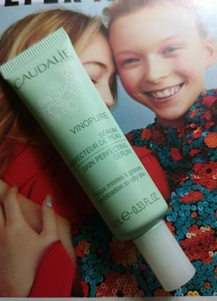 Сыворотка для улучшения текстуры кожи caudalie vinopure serum,...