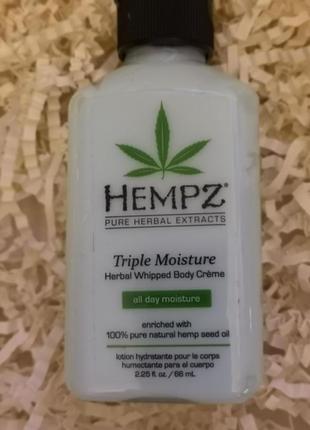 """Крем для тела """"тройное увлажнение"""" hempz triple moisture herba..."""