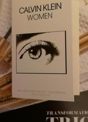 Calvin klein women новый женский аромат, 1,2 мл