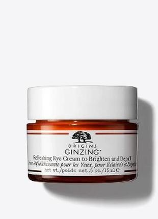 Крем для век origins ginzing refreshing eye cream 15ml