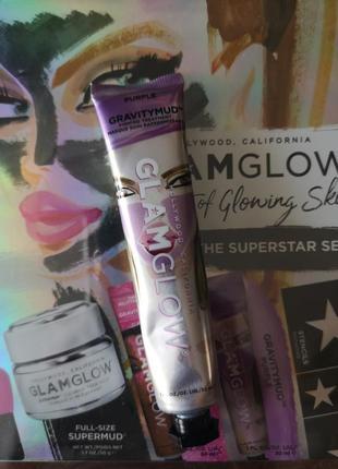 Маска для лица повышающая упругость кожи glamglow gravitymud f...