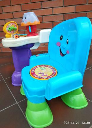 Продам детский музыкальный стульчик Fhiser price