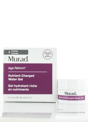 Увлажняющий гель для лица murad nutrient charged water gel, 7,...