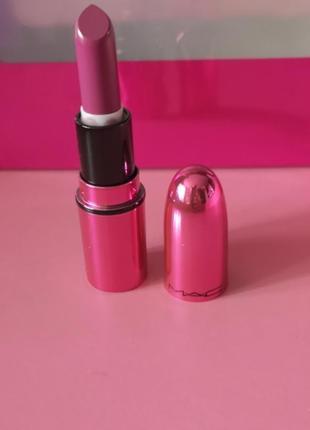 Mac lipstick помада для губ в оттенке , garland, amplified, 1.8g