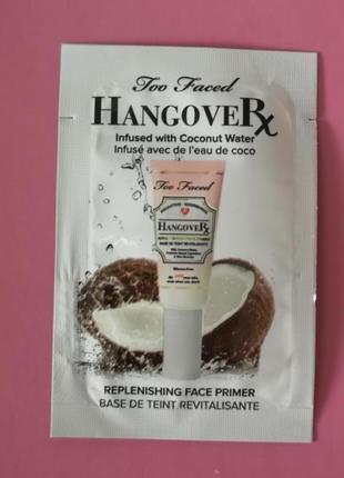 Миниатюра основа для макияжа too faced hangover replenishing f...