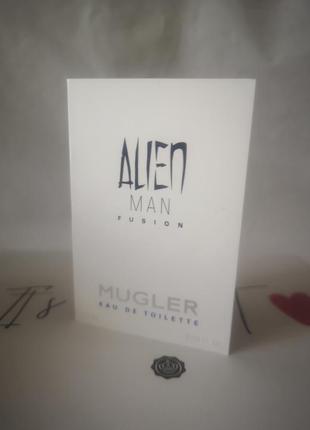 Thierry mugler alien man fusion eau de toilette туалетная вода...