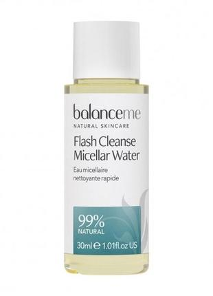 Очищающая мицеллярная вода balance me flash cleanser micellar ...